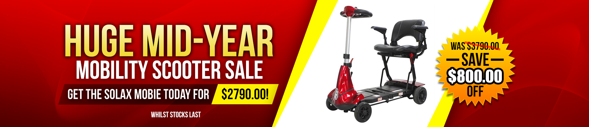 Lifestyle Mobility Mid Year Sale