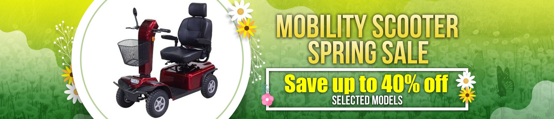 Lifestyle Mobility Scooter Spring Sale