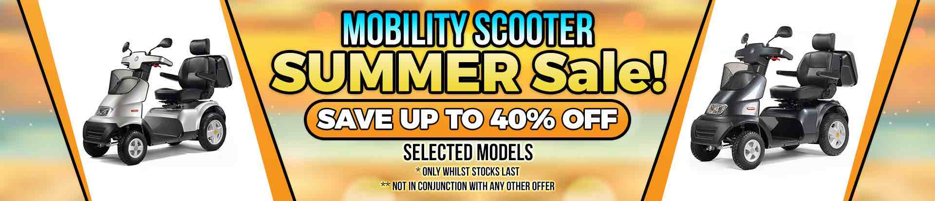 Lifestyle Mobility Scooter Summer