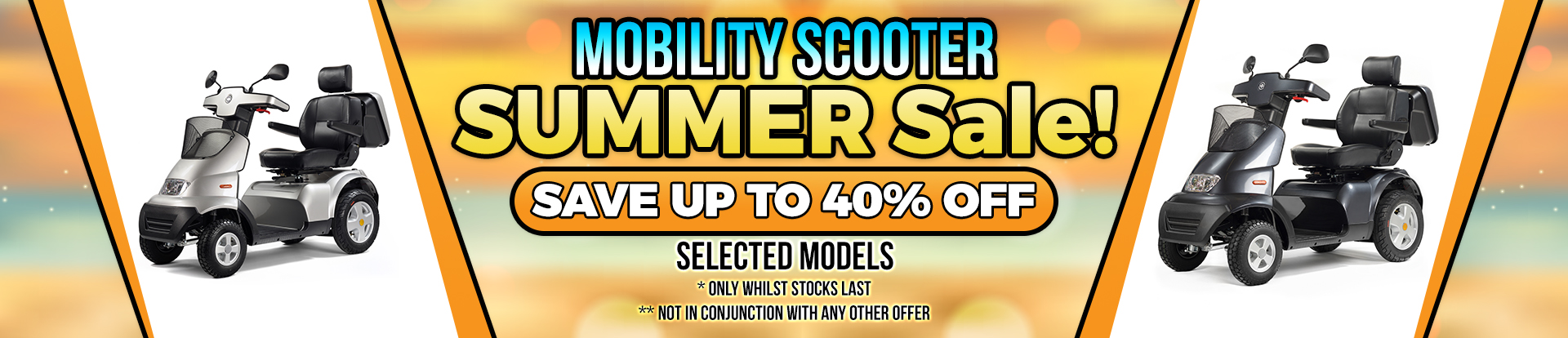 Lifestyle Mobility Scooter Summer Sale