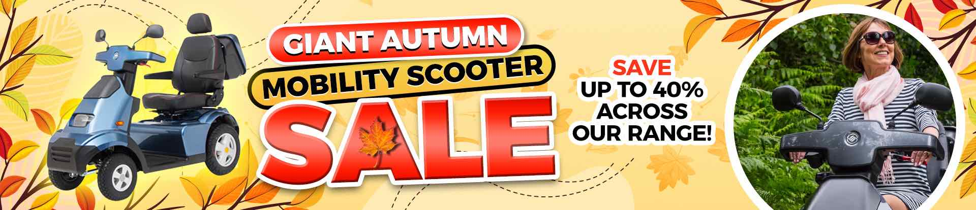 Autumn Mobility Scooter Sale 2021